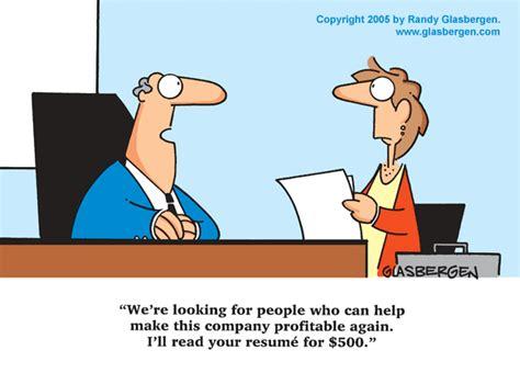 job interview randy glasbergen glasbergen cartoon service