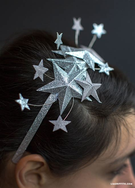 How To Make Paper Headbands - glitter paper headband lia griffith