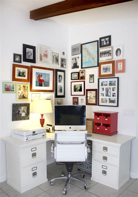house mix home office with photo wall house mix