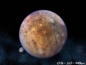 Planet pluto 3d screensaver far far away at the very edge of the