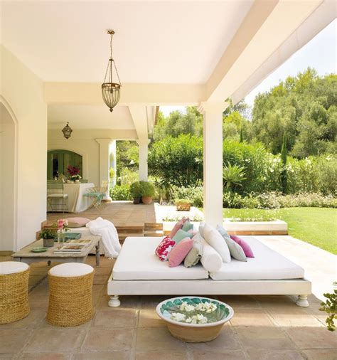 veranda mediterran spanyol mediterr 225 n verand 225 k 233 s kerti pihenők
