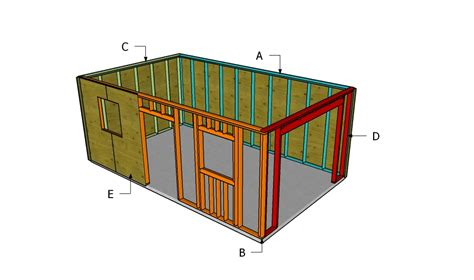 build a garage plans free garage plans myoutdoorplans free woodworking plans and projects diy shed wooden