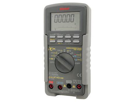 Digital Multimeter Sanwa Pc 5000 multimetr cyfrowy pc5000a sanwa 50000 ac dc dok蛯 0 03