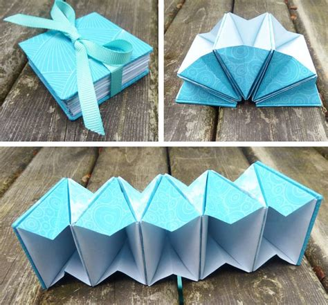 Origami Box Book - best 25 accordion book ideas on matchbox