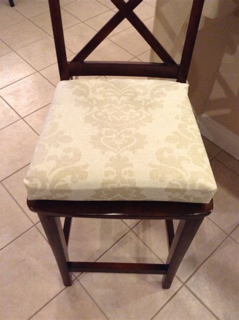 Kitchen Stool Seat Pads by Damask Print Kitchen Chair Cushion Barstool Counter