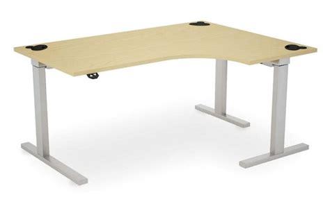 adjustable height corner desk 20 best sit stand desks images on pinterest music stand