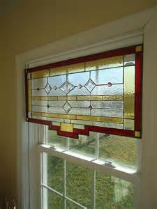 Nautical Valance Tiffany Styled Stained Glass Window Panel Curtain Valance