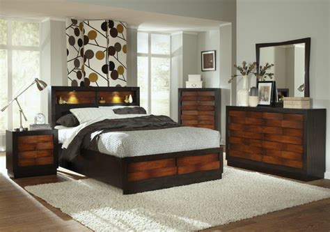 king storage bedroom sets rolwing 5pc california king storage bedroom set in reddish