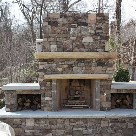 firerock outdoor fireplace kit outdoor fireplaces