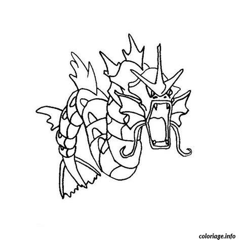 pokemon coloring pages magikarp coloriage pokemon leviator dessin