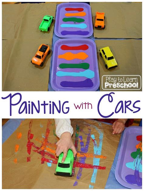 painting learning 197 best images about car crafts and activities for