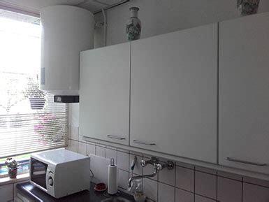 boiler in keuken boiler