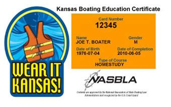 boating license lost how to get a replacement kansas boating license