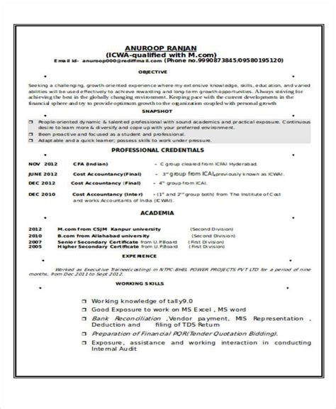 Livecareer Resume Cost by 32 Accountant Resume Sles Sle Templates