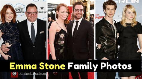 emma stone family emma stone family photos with father jeff stone mother