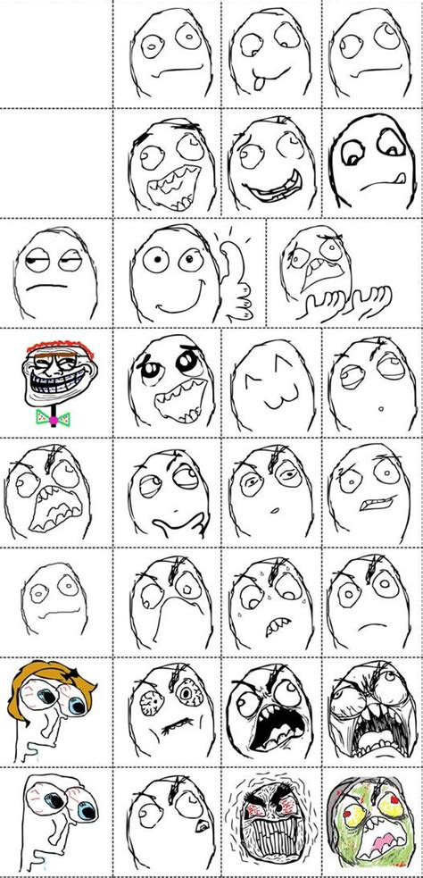 Meme Face Comics - rage comic faces gallery www imgkid com the image kid