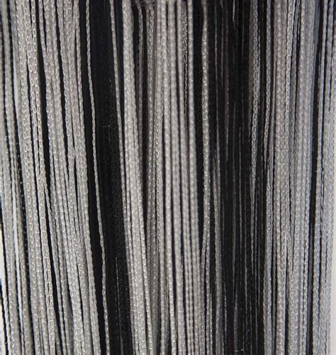 black fringe curtain buy fringe curtains white black from chair cover depot
