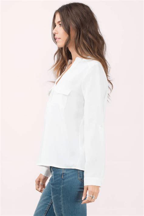 Dwyn Blouse black blouse black blouse button blouse