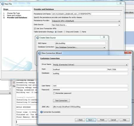 jpa tutorial with netbeans arquillian with netbeans glassfish embedded jpa and a