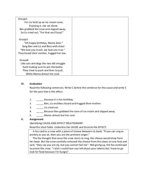 sentence pattern detailed lesson plan detailed lesson plan english math science filipino