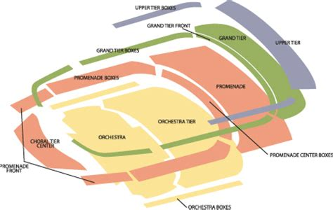 edgefield seating chart image gallery strathmore map