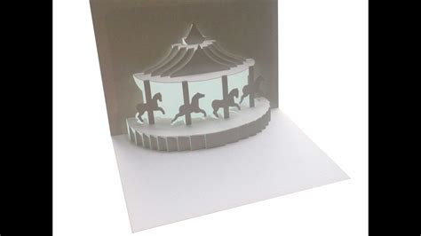 carousel card template carousel pop up card template pdf infocard co