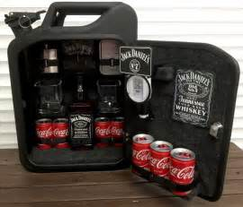 Bar Gifts Jerry Can Mini Bar Grey Goose Vodka Whiskey