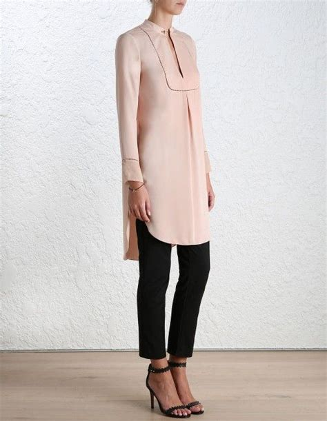 Tunik Crepe Linen By Rsd baton tunic shirt from our 16 collection in peony