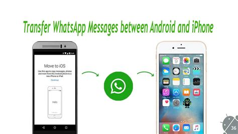 how to get pictures from android to iphone whatsapp android backup to iphone in 5 steps 2017