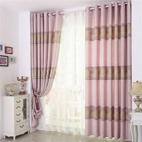 Country Dining Room Curtains Country Dining Room Curtains With Flower Jacquard Style