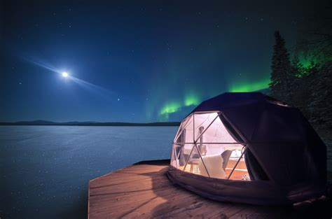 northern lights dome hotel dome