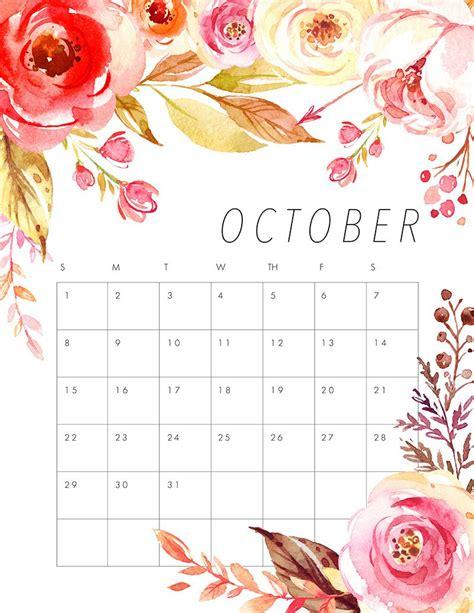 printable  floral calendar calendar kalendar kalendar dlya pechati  pechatnye