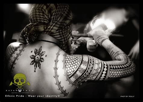 tribal tattoo kalinga philippines kalinga traditional way of tattooing ethnic