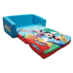 mickey mouse clubhouse flip open sofa mickey mouse clubhouse flip open sofa with slumber
