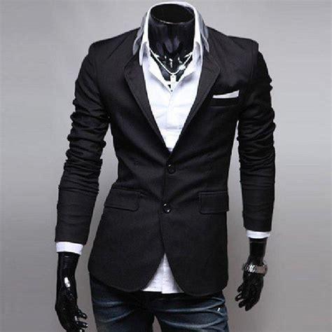 Jas Blazer Cool s fashion casual cool korean dress suit blazer slim