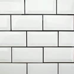 white beveled subway tile amazing tile