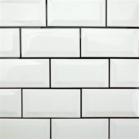 subway tiles white beveled subway tile amazing tile