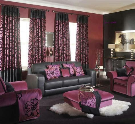 Purple And Black Living Room | 10 amazing color schemes for the living room