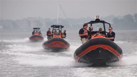 fast boat rescue training education like no other u s merchant marine academy