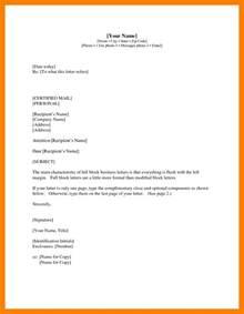 4 formal letter format with cc teller resume