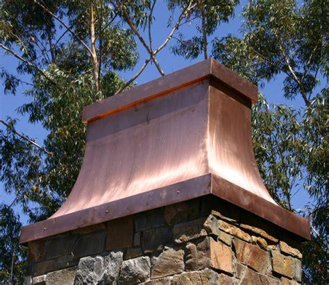 Fireplace Shroud by Custom Copper Chimney Caps