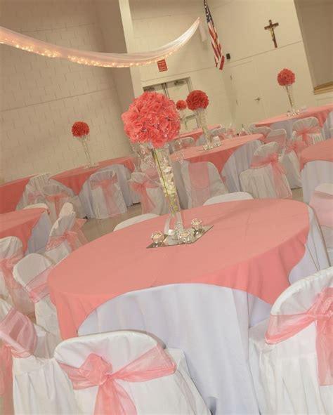 Wedding Decoration Ideas Coral Wedding Decor Ideas With