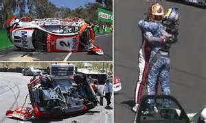 V8 Supercars' Craig Lowndes and Warren Luff have big crash ... F 15 Cockpit