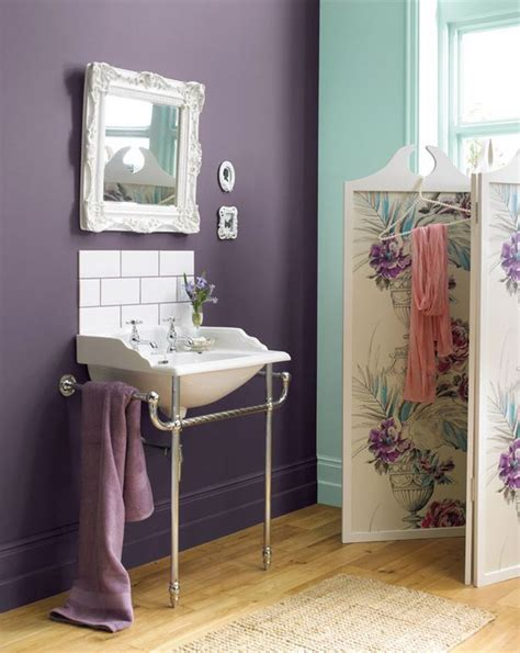 lavender bathroom walls 1000 ideas about purple bathrooms on pinterest purple