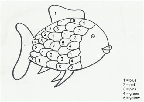 printable numbers early years the rainbow fish activities for early years here come