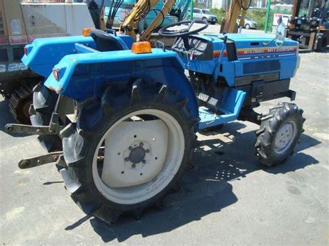mitsubishi tractor 1998 used for sale