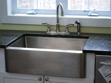 stainless kitchen farm sink photos diy