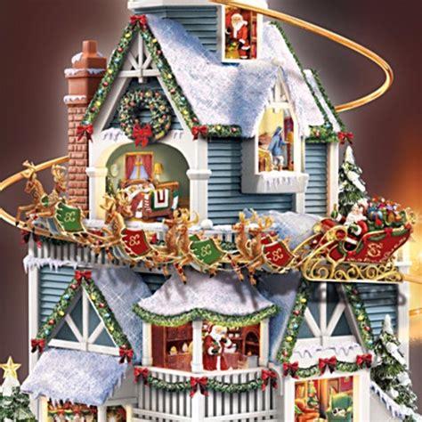 thomas kinkade christmas houses thomas kinkade night before christmas story house centerpiece at ocean treasures