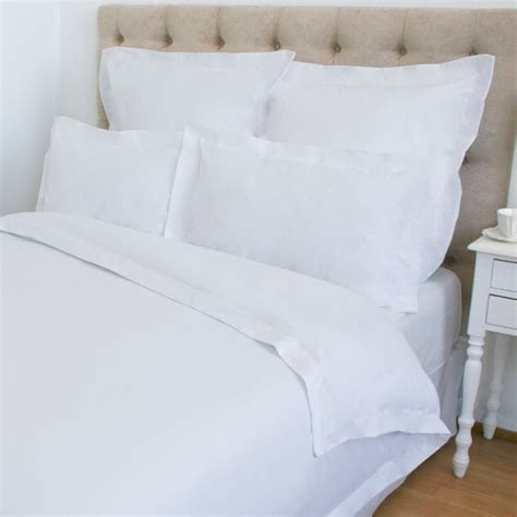 sheraton bedding sheraton king cotton percale duvet cover white