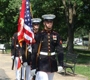 marine corps color guard ed henry june 2010
